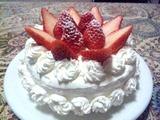 デコレーションケーキ頂きました!