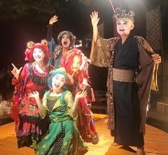 家族4人の旅芸人一座『楽市楽座』