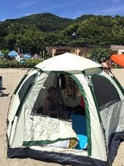 憧れのテント