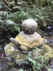 亀に乗った七福神