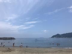 快適な海でした