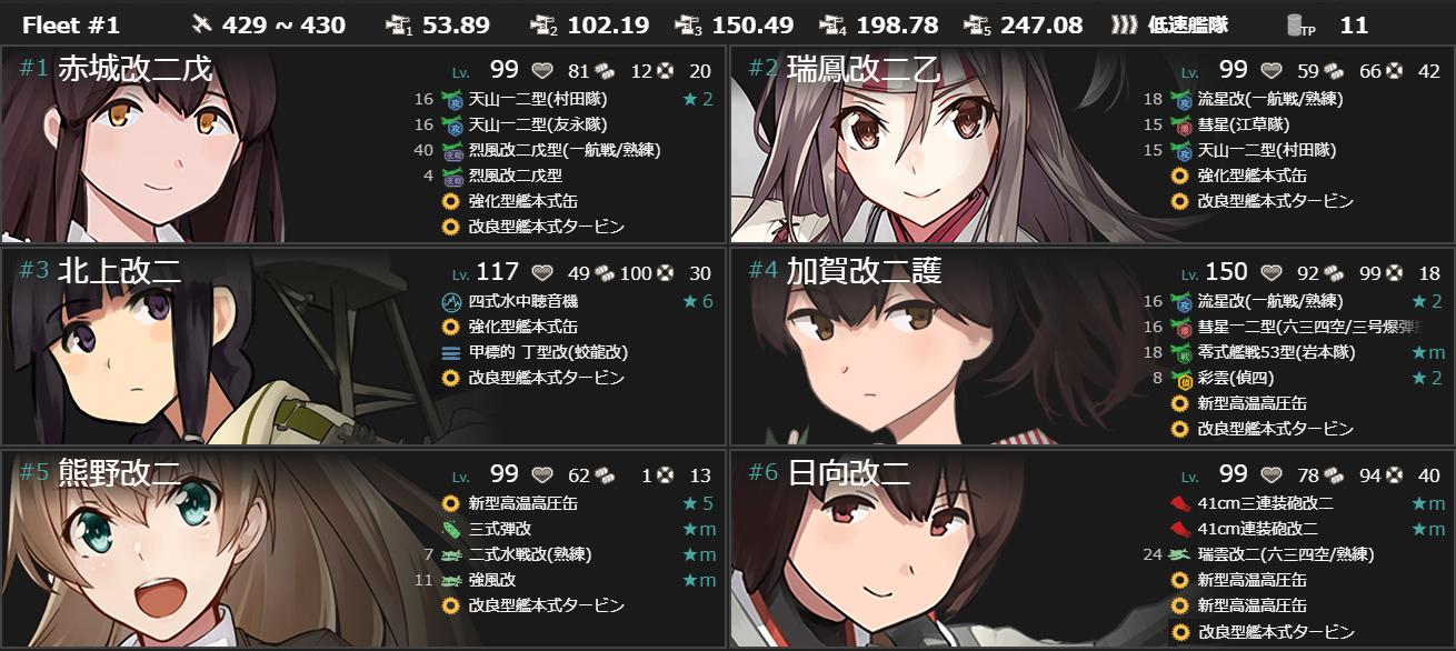 4-5最終編成