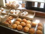 店内にあるパンコーナー