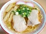 私はガッツリとチャーシューメン(普通)を完食!