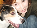 母の愛犬テツくん♪もう14歳だから歯が抜けてきたの。