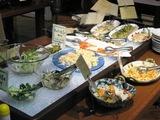サラダ&お惣菜ゾーン