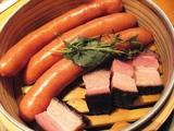 農家のベーコンとソーセージ蒸し★893円