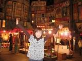 商店街の中は大正〜昭和初期のレトロな雰囲気♪