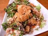 海老サラダ735円。今日はマイルド味★