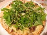 お友達が頼んだ水菜と豚のバルサミコピッザァ!