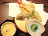 天ぷらと茶碗蒸し☆