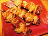 豚バラ肉と玉ねぎの大串〜★347円