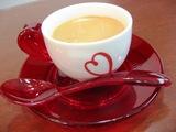 このカップ&ソーサーもイタリアもの♪かわいい!