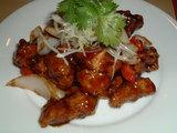 ここまできたら酢豚と麻婆豆腐でごはん食べたい!