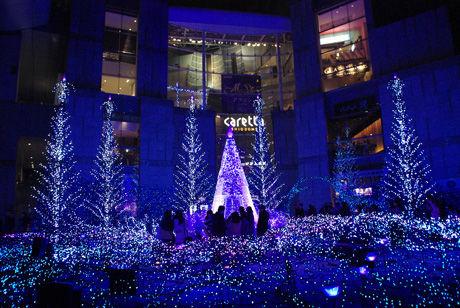 2016年のクリスマスイルミネーション(東京23区のみ)