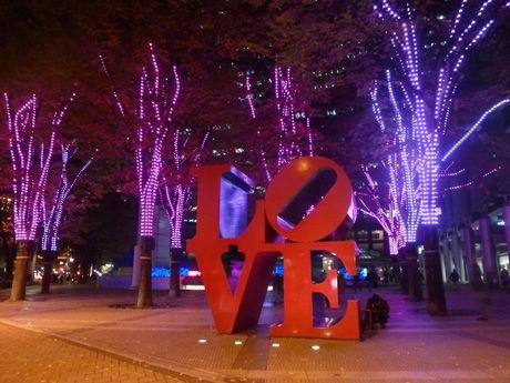 西新宿のイルミネーション2014