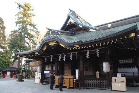 初詣 大國 魂 神社
