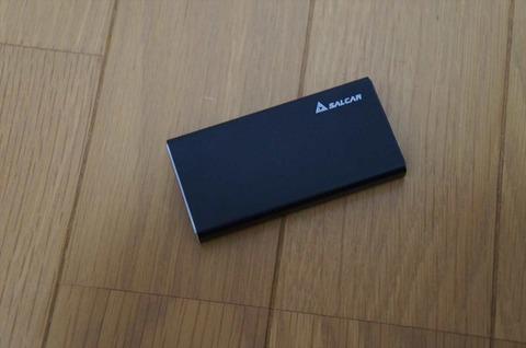 mSATAのSSDを外付けにできます。