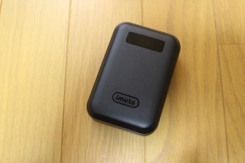 使いやすさを重視したモバイルバッテリー