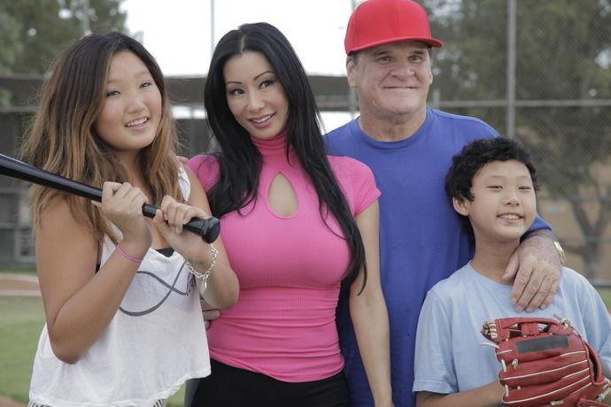 美人韓国人とメジャーリーガーの子供の顔がwwwww