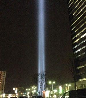 武蔵小杉 光のタワー