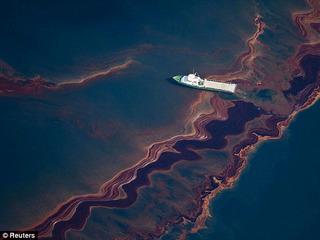 メキシコ湾原油流出