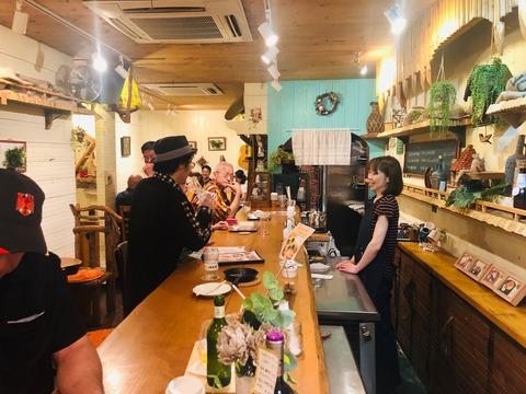白井清子さんCafeで_ライブ2