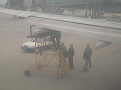 広州から西安へ 出発(南方航空) 3