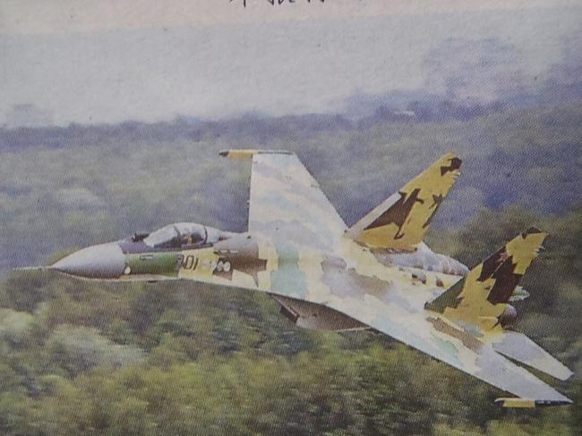 人民解放軍 最新鋭戦闘機 蘇−35