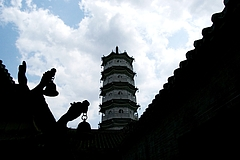 広東省雲浮市新興県にある禅寺 国恩寺を訪問