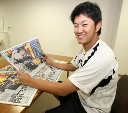 阪神岩貞、「ありがとう」メールを500件返信