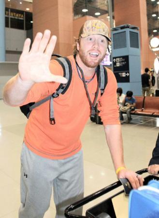 阪神の新助っ人ボイヤー「すごく興奮している。」