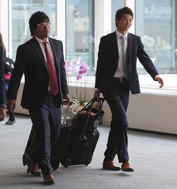 【朗報】平田良介さん、スーツ姿がかなりイケメンに