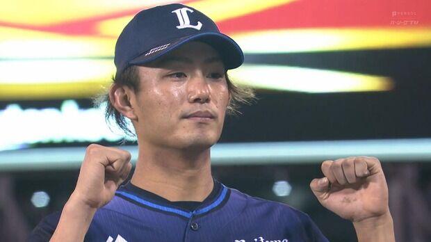 西武今井 152.1回 8勝7敗 防御率3.37