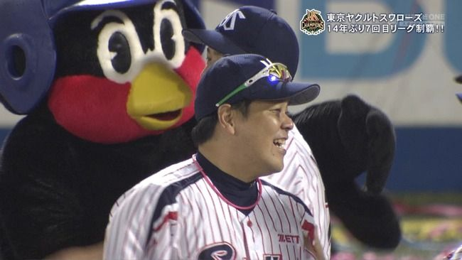 2015年セリーグ1位 東京ヤクルトスワローズ(勝率.539)←これ