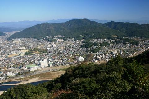 Mount_Dodo_from_Mount_Kinka_2011-10-29