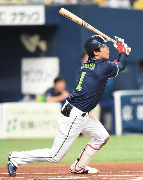 【悲報】山田哲人さん、.059