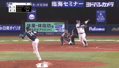 【悲報】ここまでクローザーを務めていた西武増田、7回に登板して被弾