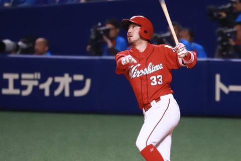 広島菊池、シーズン30本塁打ペースwwwwwwww