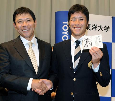ロッテ・藤岡貴裕さん(2017年の防御率16.62)のドラフト前評価wwww