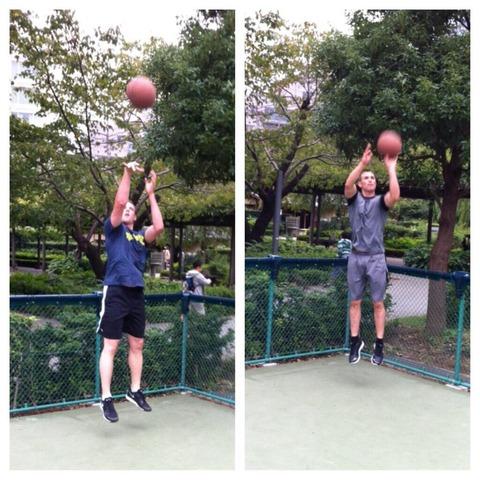 【BOW報】マシソン、ボウカーとバスケをする!夜はボウカーの家でBBQ