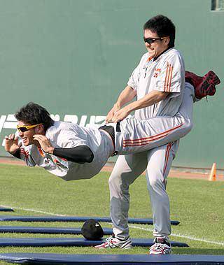 澤村拓一トレーニング