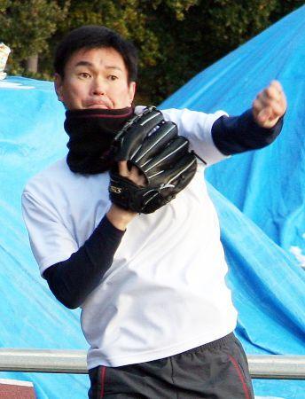 【おっさん】岩瀬、山本昌と魔球「ナンバリング34」を共同開発
