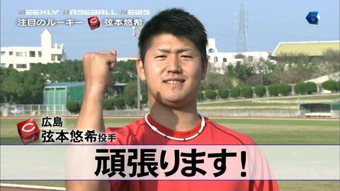 【広島おもんねーわ】ブログで暴言を連発した広島弦本悠希投手が戦力外に