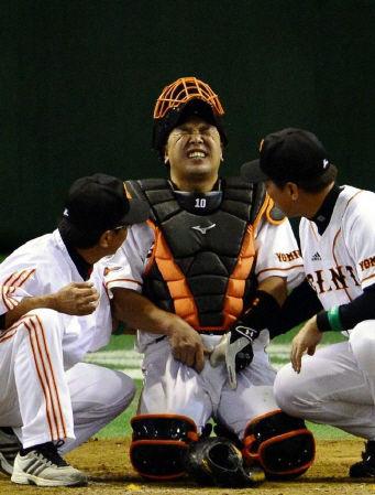【球がタマ】巨人阿部「生まれ変わったら捕手はやらない」