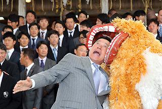 【毎年恒例画像】巨人原監督、沖縄でウキウキ