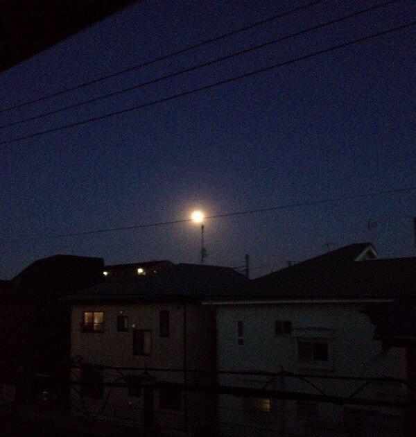 【速報】月がデカい3