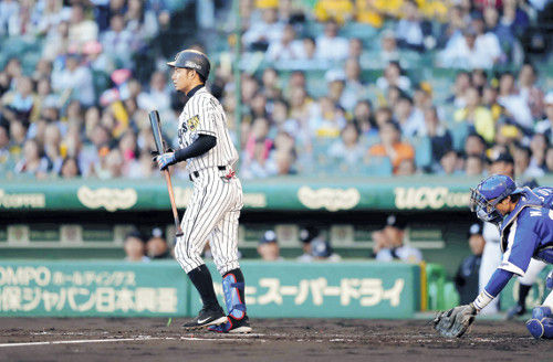 """【阪神】""""歩いてまえ打線""""リーグトップの四球で首位走る!"""