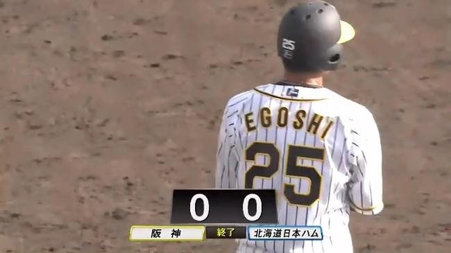 【練習試合】阪神対日本ハムは0-0の引き分け