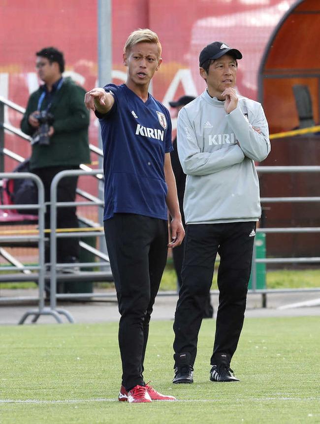 西野監督「ピッチがどこも悪い」 武藤選手「芝が長く、ドリブルしにくい」